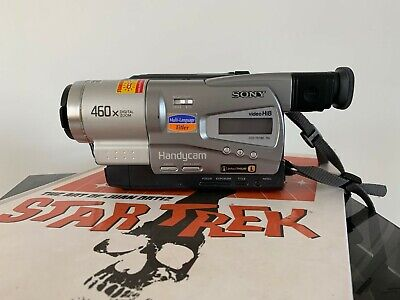 SONY CCD-TR718E ANALOGUE CAMCORDER (Hi8 8mm Video 8 Playback SP/LP )