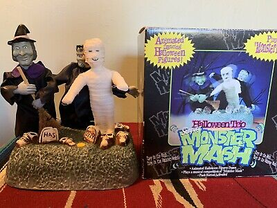 Gemmy 1997 Halloween Trio Singing Monster Mash Electronic Animated Prop