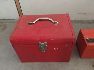 MOVING - Two Old Tool Boxes - Must go