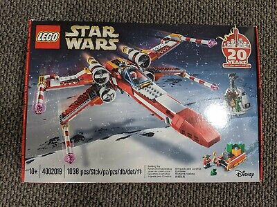 4002019 Lego Star Wars X-Wing Christmas Set - Employee Exclusive!