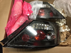 Honda Civic coupe euro style tail lights 2006-08