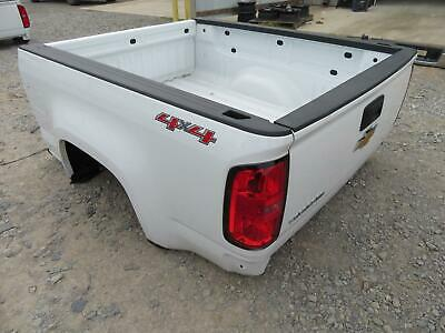 2016-2018 CHEVROLET COLORADO EXTENDED CAB TRUCK BED WHITE