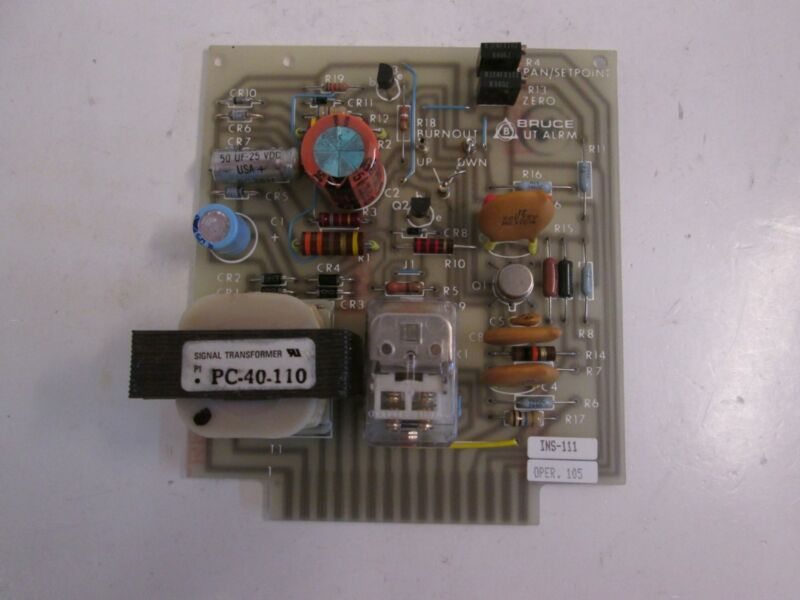 Bruce 3121973 Rev B/07, UT Alarm, PCB Assembly, Used