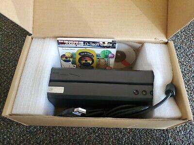 Msr606 Magnetic Stripe Card Reader Writer Encoder New Open Box