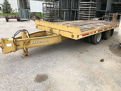 10 Ton Tiltbed Equipment Trailer