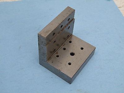 Angle Plate Step Machinist Toolmaker Hardened Grind Fixture 3x2.5x3