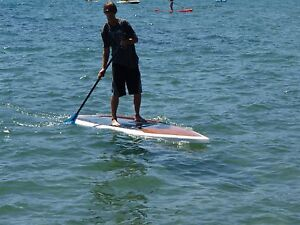 Hollow Wood Standup Paddleboard Hillwood George Town Area Preview