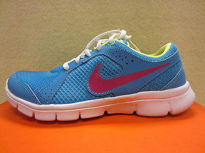 2cd14bec81d New Nike Flex Experience (GS) Girls Size 6 Y Youth Running Shoes Blue  599344-401