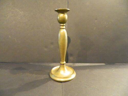 Antique Bradley & Hubbard Art Nouveau Brass Candlestick