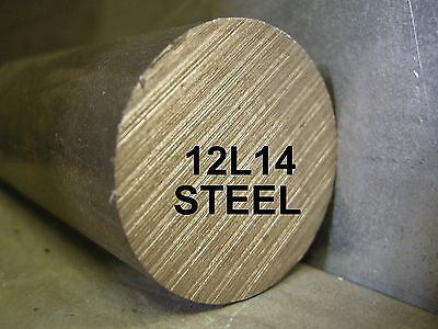 12l14 1-12 X 12 Round Bar Steel Stock For South Bend Lathe Cnc Machine Shop