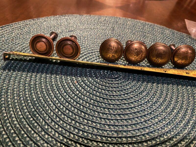 antique drawer knobs set of 6
