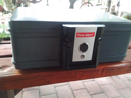 First Alert Fire Proof Safe and Waterproof Protection Safe