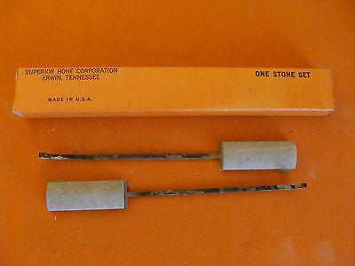 Nos Superior Hone Corporation Style A Honing Stone Set Coarse 20-19-180