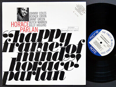 HORACE PARLAN Happy Frame Of Mind LP BLUE NOTE 84134 Grant Green Booker Ervin