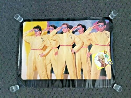 VINTAGE 1978 DEVO ARE WE NOT MEN WE ARE DEVO PROMO POSTER