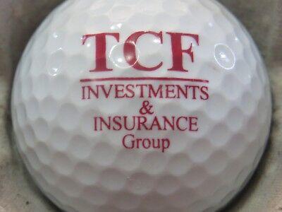 1  Tcf Bank Minnesota Logo Golf Ball