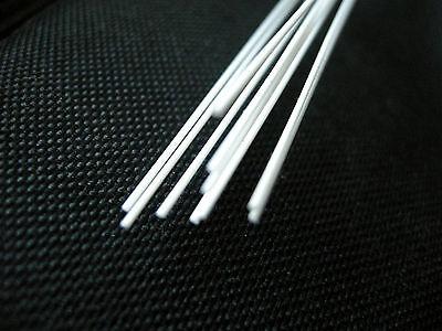 Plastic Styrene Round Rods - (MR-80) -10pcs x 2.0mm x 20cms(200mm)