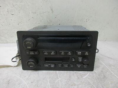 2005 05 Chevy Silverado 1500 UB1 CD Cassette Radio 15295372 OEM LKQ