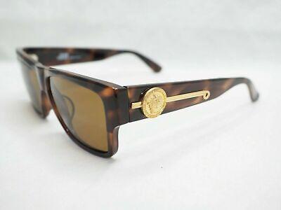 Gianni Versace Sunglasses 372/DM COL Vintage Tortoise Medusa