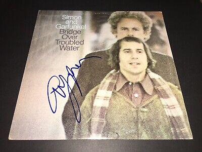 Art Garfunkel SIGNED Bridge Over Troubled Water LP Album Paul Simon PROOF - Paul Simon Signed