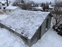 Roof Shovelling/Raking Services