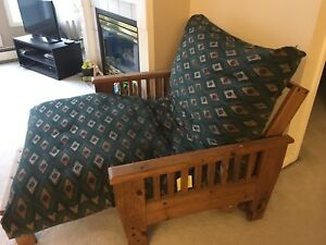 Futon chair/bed for sale!