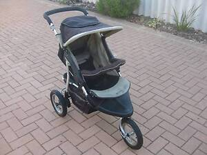 STEELCRAFT 3 WHEELED  STROLLER PRAM.RAIN COVER Redcliffe Belmont Area Preview