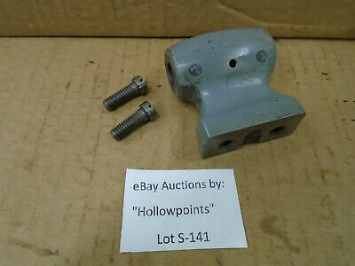 S141 Southbend 9 Lathe Lead Screw Holder Tailstock End 12 Model B A C Us Navy