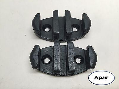 - Pactrade Kayak Pair of Black Plastic Zigzag Anchor Cleat Secure Bow Safety Line