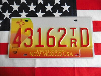 US NEW MEXICO 43162 AUTO CAR KENNZEICHEN NUMMERNSCHILD SCHILD PLATE TAG DEKO USA