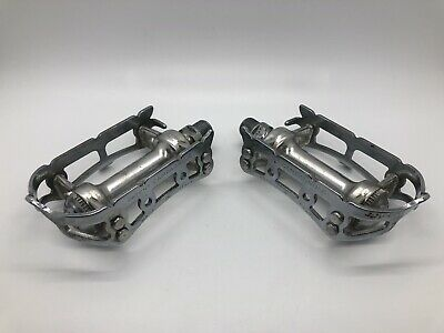 FIXING SHOE PLATE SET NOS CAMPAGNOLO TOE CLIP PEDAL FLIP TABS
