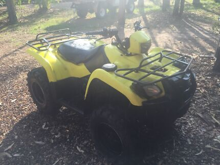 Suzuki 500 4x4 quad Herbert Litchfield Area Preview