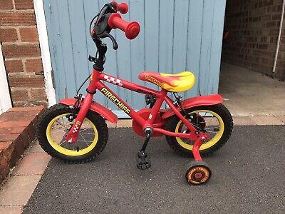 Toddler Kids Firefighter Bike Stabilisers