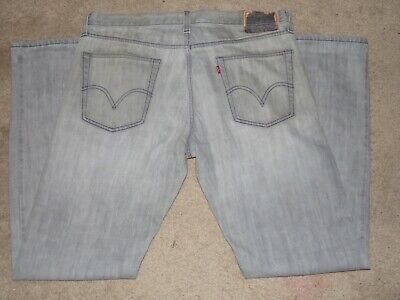 LEVI LEVIS 514 SLIM STRAIGHT MEN'S JEANS SIZE 36 X 34 RED TAB
