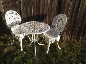 Outdoor Dining / Cafe Table with Chairs Ainslie North Canberra Preview