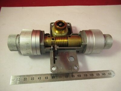 Leitz Germany Dialux Mechanism Stage Microscope Part Optics As Pictured Ft-2-52