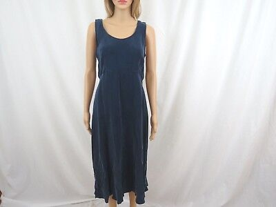 Rabbit Designs Women Dress Size Petite 10 Sleeveless Blue Made In USA for sale  Shipping to India