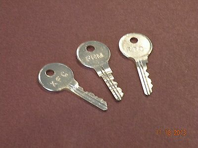 2 Steelcase Master Or Core Keys Fr And Xf Series Locks Office Furniture