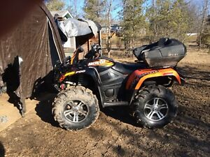 2012 Arctic Cat Mud Pro 700 Ltd