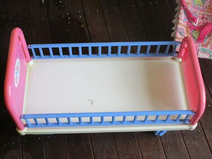 Baby born cot, baby station and bouncer etc Gordon Tuggeranong Preview