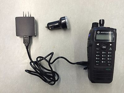 Motorola Xpr6550 6350 6300 Lion Battery Charger Vehicle Usb Ac Dc Rln6433