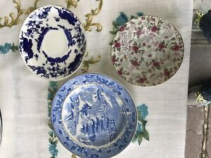 Small antique plates