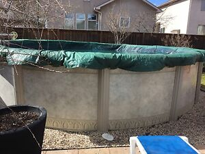 18 foot pool with heater