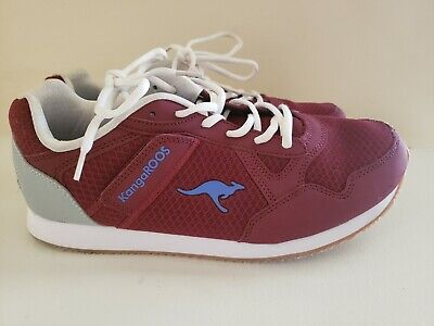 KangaROOS Women's Trainers With Pockets Burgundy/White Size 11 164243  EUC* for sale  Apex