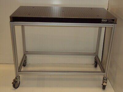2x4 Newport Optical Breadboard Table T-slot Roll-around Bench Free Crateship