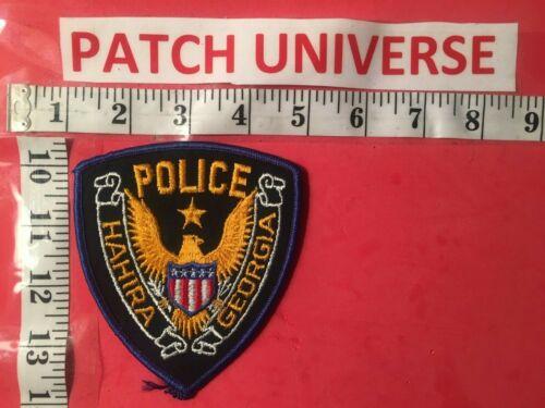 HAHIRA  GEORGIA  POLICE  SHOULDER PATCH  C140