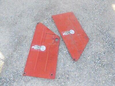 Case Vac Tractor Side Cover Hood Panels Panel W Door
