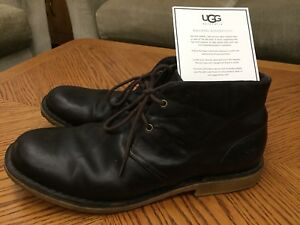 Men's size 13 Leather Ugg boots