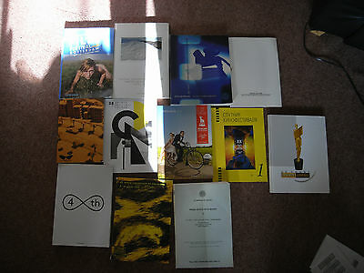 Film Festival 25 international Catalogues Many Rare Issues Price £7.50 EACH
