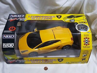 NEW 1:16 Lamborghini Gallardo Nikko Super Exotics Series Radio Control RC Car